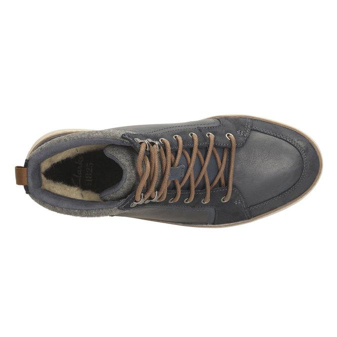 Mens Sneakers clarks, šedá, 894-9398 - 19
