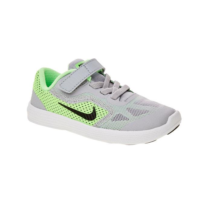 Dětské sportovní tenisky nike, zelená, 109-7127 - 13