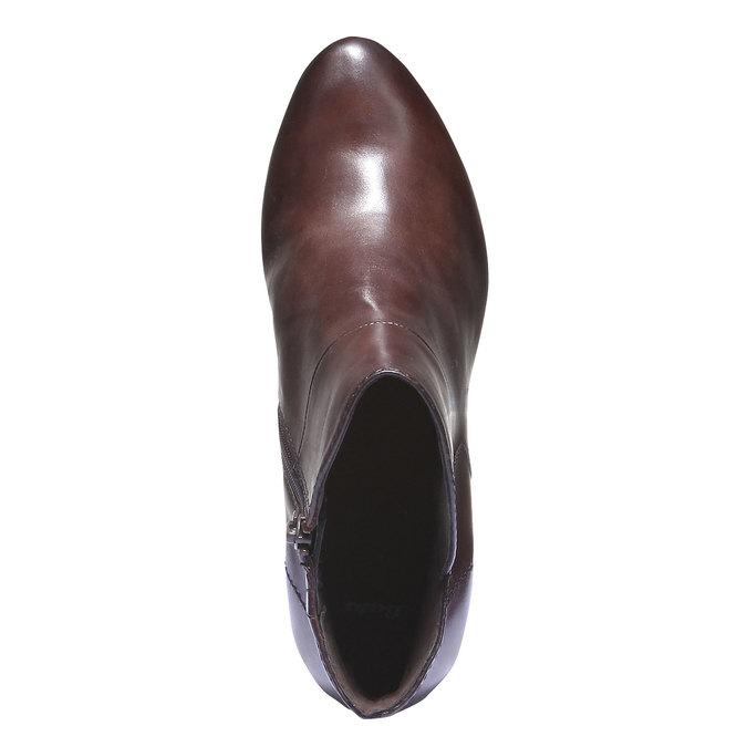 Dámská kotníčková obuv bata, hnědá, 794-4109 - 19