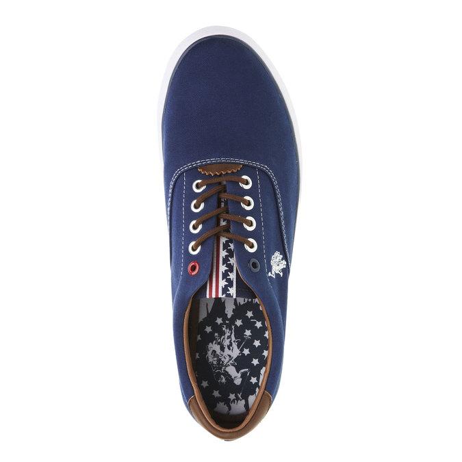 Ležérní pánské tenisky u-s-polo-assn-, modrá, 849-9001 - 19
