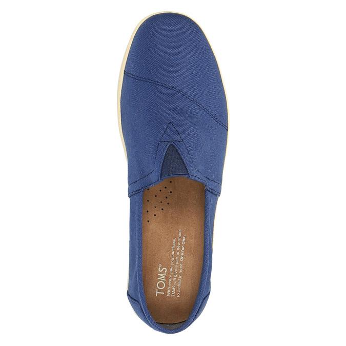 Pánské modré Slip on toms, modrá, 819-9006 - 19