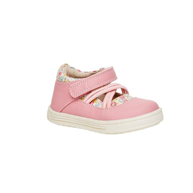 Dívčí kotníčkové boty mini-b, růžová, 121-5103 - 13