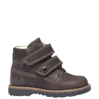 Kožené kotníkové boty primigi, hnědá, 116-4134 - 13