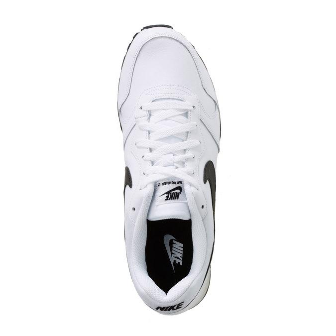 Pánská sportovní obuv nike, bílá, 804-1159 - 19