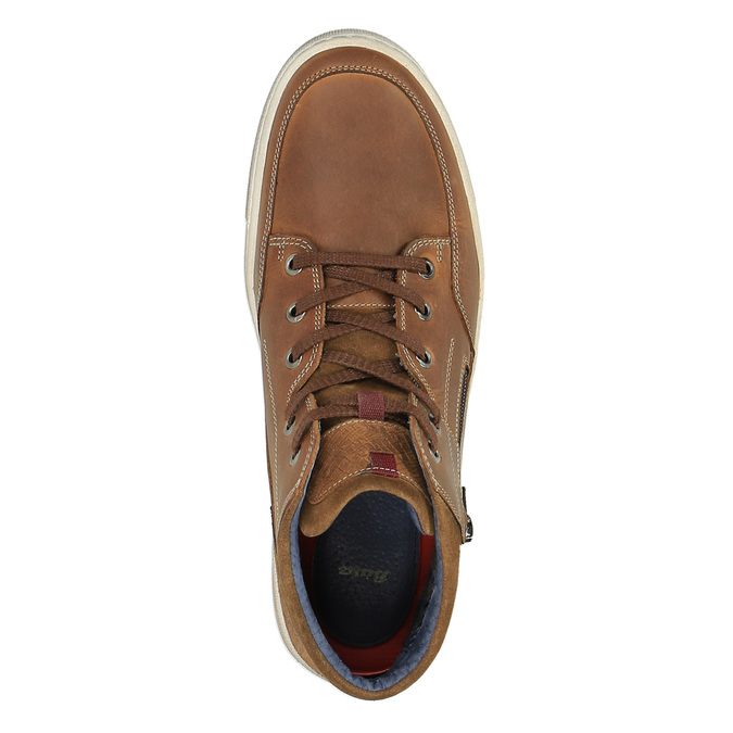 Pánské kotníčkové tenisky bata, hnědá, 826-3650 - 19