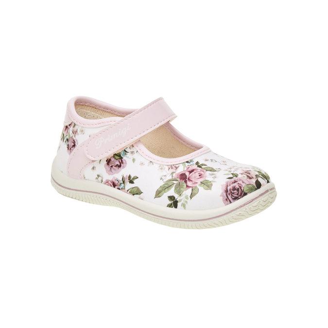 Dívčí boty s potiskem růží primigi, růžová, bílá, 129-0138 - 13