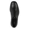 Pánské kožené polobotky bata, černá, 824-6655 - 19