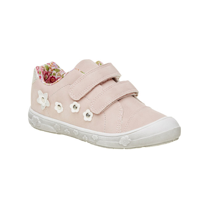 Dívčí tenisky na suché zipy mini-b, růžová, 221-5161 - 13