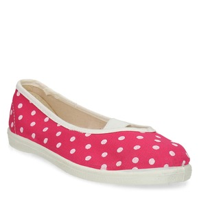 Dětské cvičky s puntíky bata, růžová, 279-5102 - 13