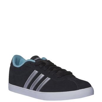 Ležérní semišové tenisky adidas, černá, 503-6685 - 13