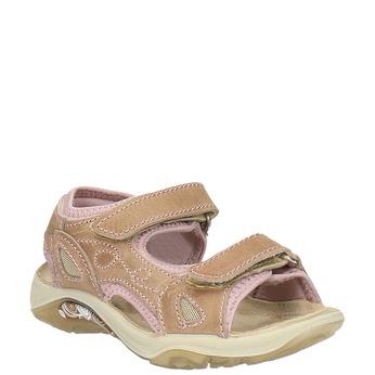 Dětské kožené sandály weinbrenner-junior, hnědá, 366-3170 - 13