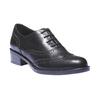 Kožené dámské polobotky bata, černá, 524-6185 - 13