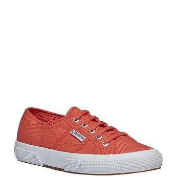 Látkové tenisky superga, červená, 589-5187 - 13