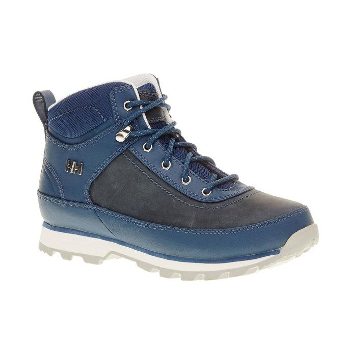 Kožené zimní boty ke kotníkům helly-hansen, modrá, 594-9002 - 13