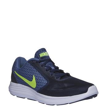 Pánské sportovní tenisky nike, modrá, 809-9220 - 13