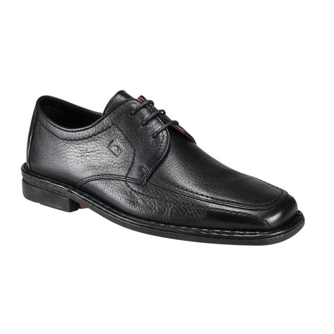 Kožená obuv fluchos, černá, 824-6786 - 13