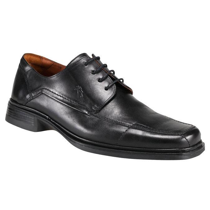 Kožená obuv fluchos, černá, 824-6783 - 13