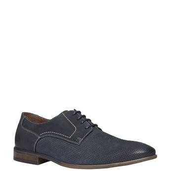Ležérní kožené polobotky bata, černá, 826-6832 - 13