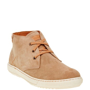 Pánská kožená obuv weinbrenner, hnědá, 843-8661 - 13