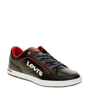 Pánské tenisky levis, černá, 841-6551 - 13