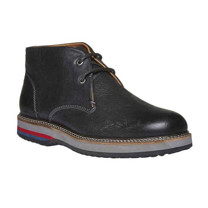 Kožené boty ve stylu Desert Boots bata, černá, 894-6114 - 13