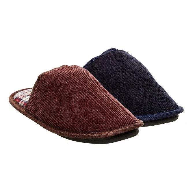Pánská domácí obuv bata, 879-0166 - 13