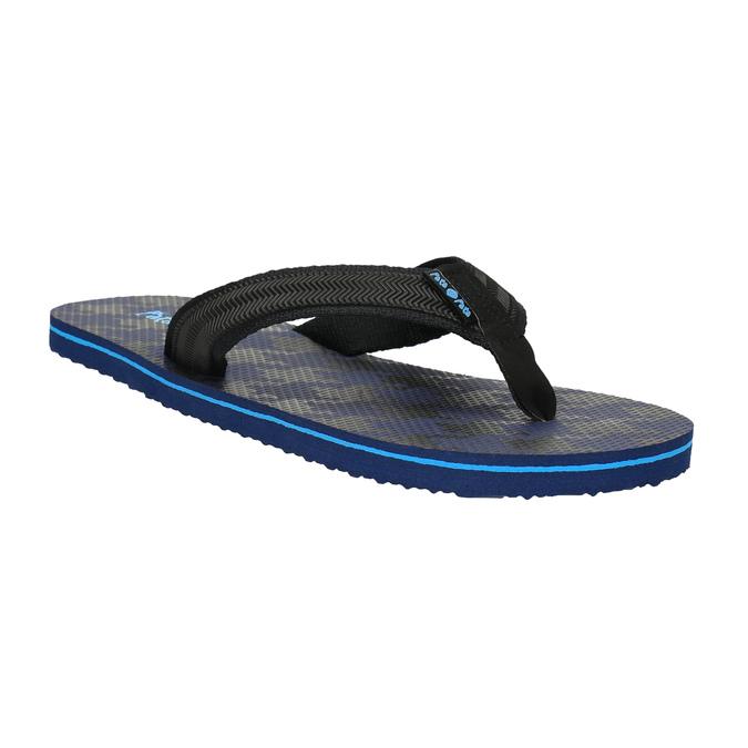 Pánské žabky pata-pata, modrá, 881-9602 - 13
