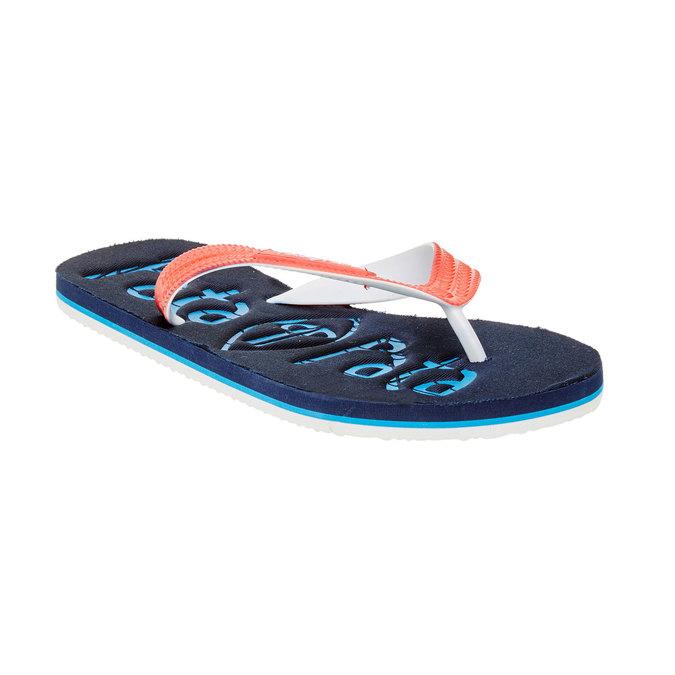 Pánské žabky pata-pata, modrá, 881-9600 - 13