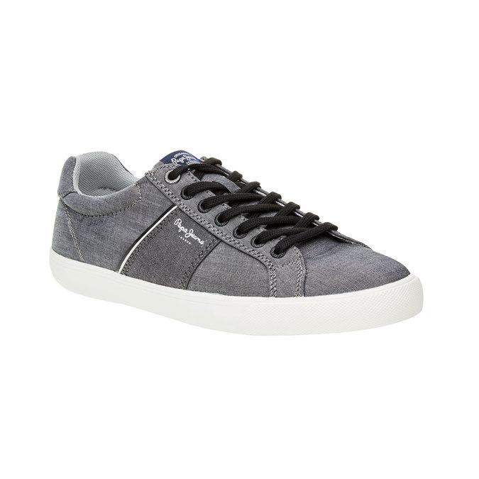 Pánské ležérní tenisky pepe-jeans, šedá, 849-2009 - 13