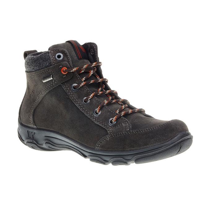 Kožené zimní boty weinbrenner, černá, 893-6218 - 13