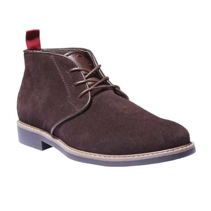 Kotníčková obuv ve stylu Chukka bata, hnědá, 893-4245 - 13
