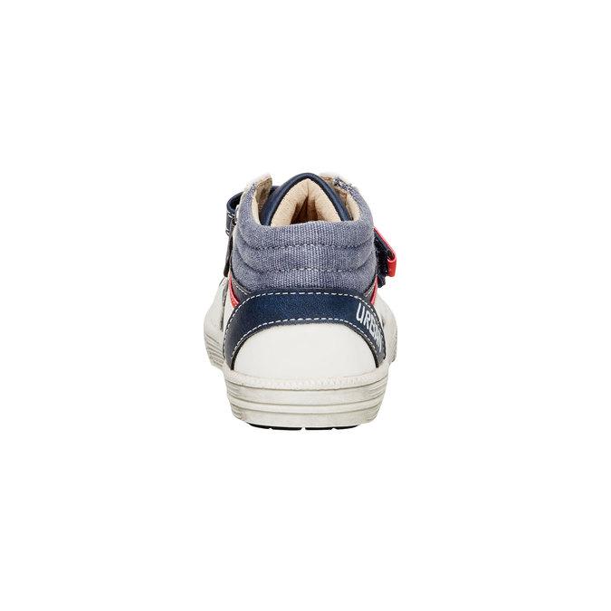 Kotníčkové boty na suché zipy mini-b, modrá, 111-9101 - 17