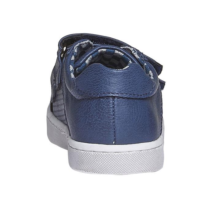 Dětské tenisky na suché zipy mini-b, modrá, 211-9151 - 17