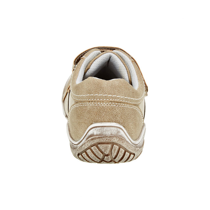 Dětské ležérní tenisky na suchý zip mini-b, hnědá, 311-3212 - 17