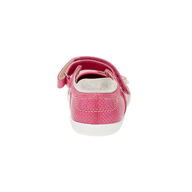 Dívčí baleríny s páskem mini-b, růžová, 221-5160 - 17