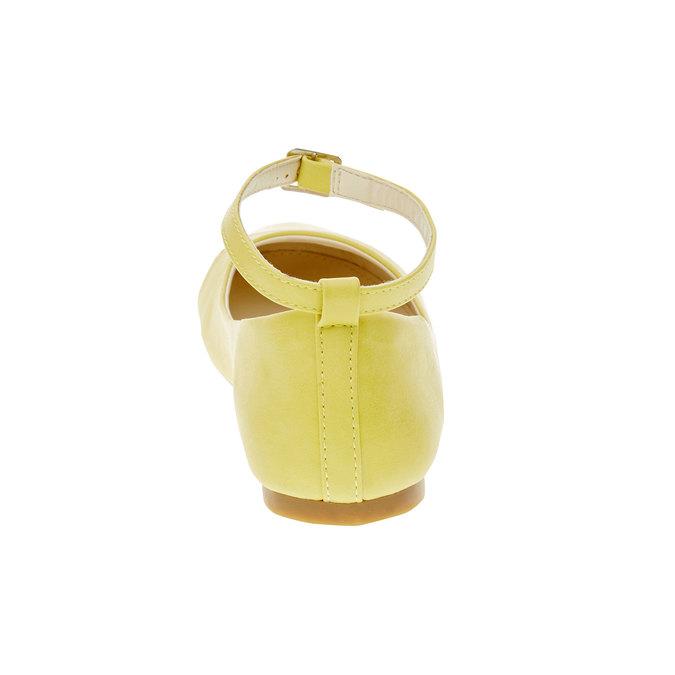 Žluté baleríny s páskem mini-b, žlutá, 321-8181 - 17