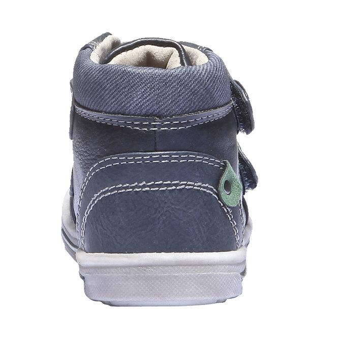Dětské tenisky mini-b, modrá, 111-9100 - 17