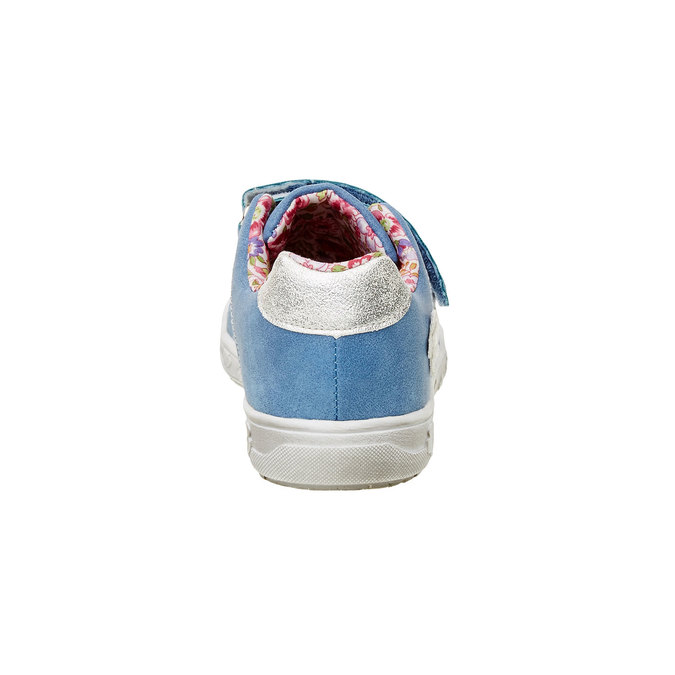 Dívčí tenisky na suché zipy mini-b, modrá, 221-9161 - 17