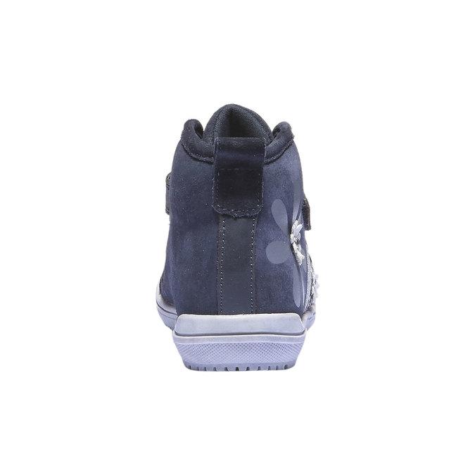 Dětské kotníčkové tenisky mini-b, modrá, 323-9103 - 17