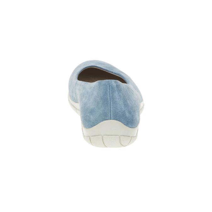 Ležérní kožené baleríny weinbrenner, modrá, 526-9103 - 17