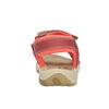 Dětské kožené sandály weinbrenner-junior, červená, 366-5170 - 17