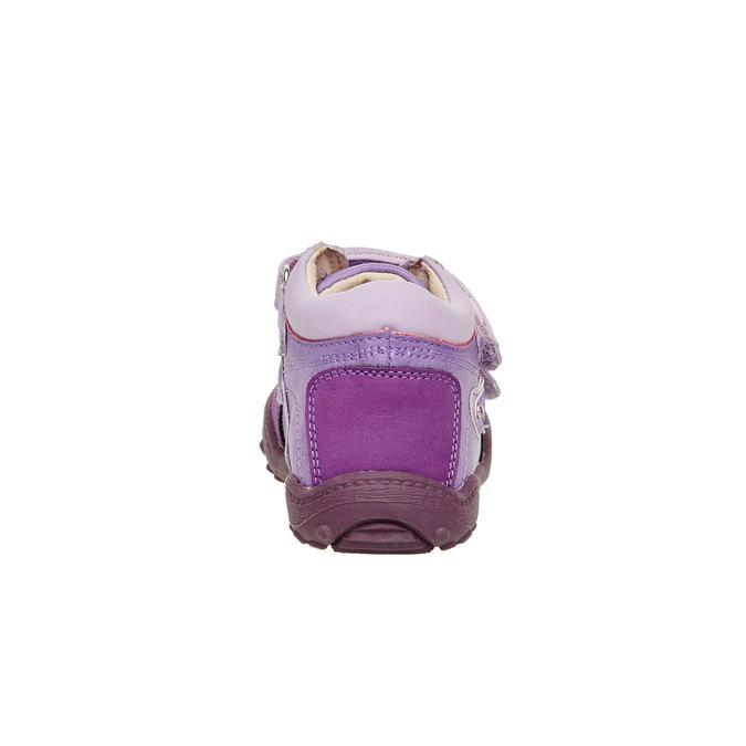 Dívčí kotníčkové boty mini-b, fialová, 121-9104 - 17