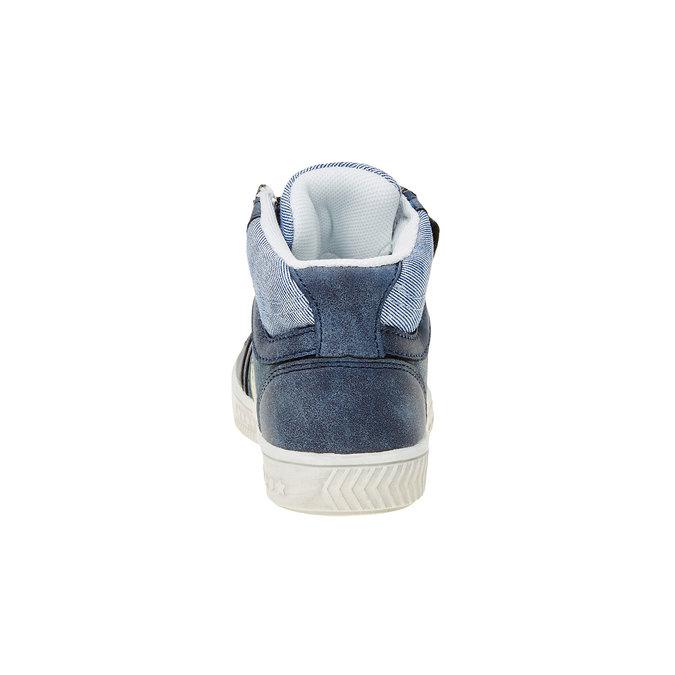 Dětské kotníčkové tenisky mini-b, modrá, 211-9156 - 17