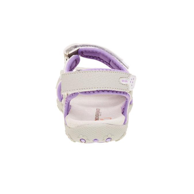Dětské sandály weinbrenner-junior, šedá, 361-2552 - 17