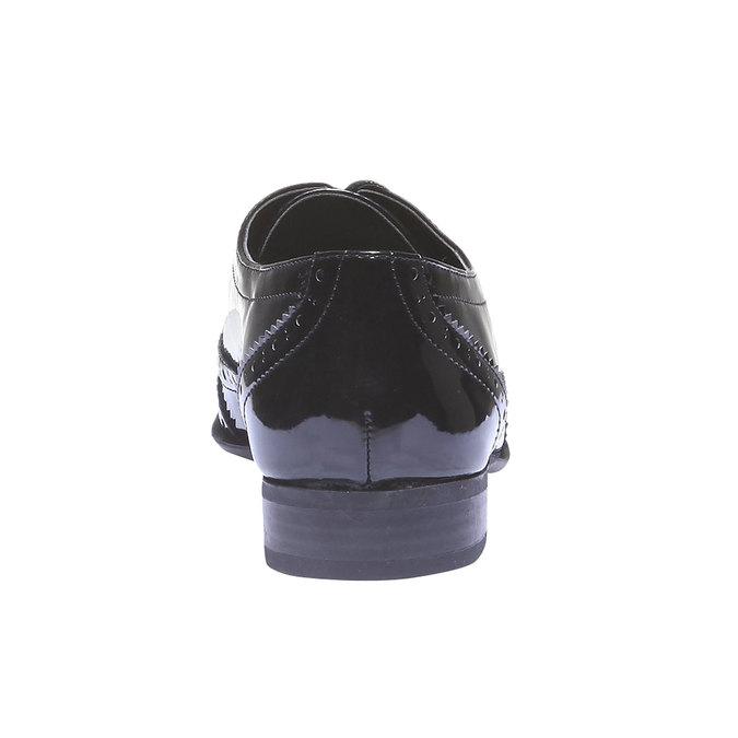 Dámské polobotky bata, černá, 521-6104 - 17