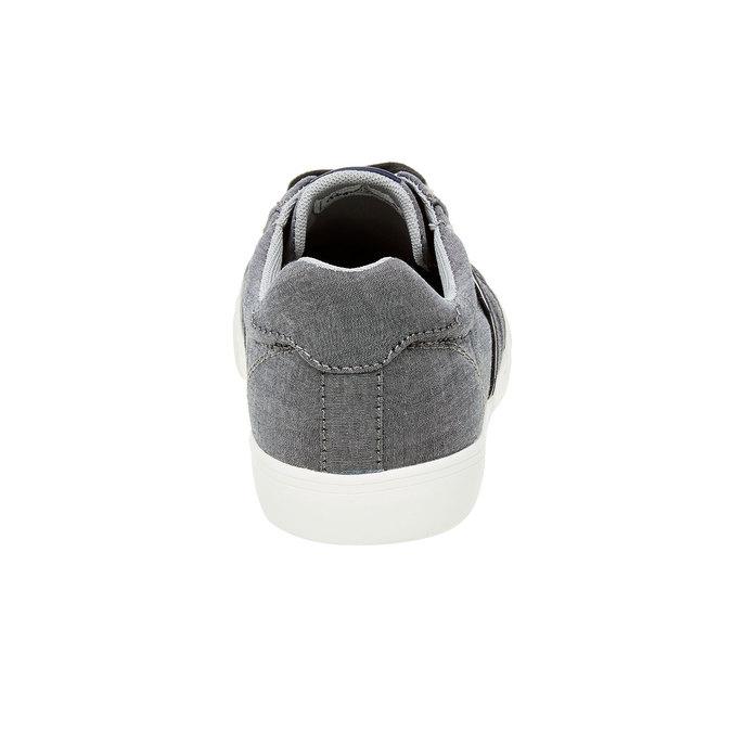 Pánské ležérní tenisky pepe-jeans, šedá, 849-2009 - 17