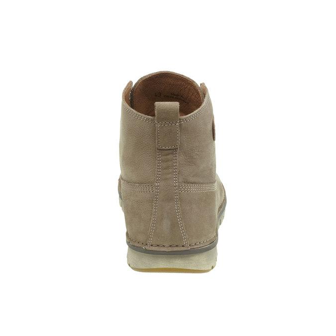Kožená kotníčková obuv weinbrenner, hnědá, 896-2340 - 17