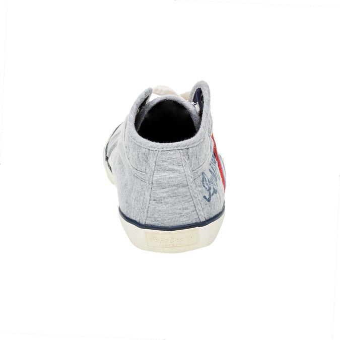 Pánské kotníčkové tenisky pepe-jeans, šedá, 849-2001 - 17