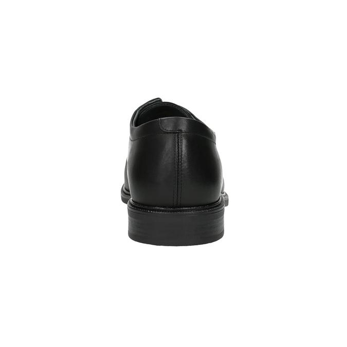 Kožené pánské polobotky climatec, černá, 824-6111 - 17
