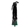 Kožené kozačky s gumovou špičkou bata, černá, 796-6630 - 17